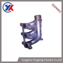 2015 Factory price auto parts diesel engine escape-pipe, High silicon molybdenum ductile iron
