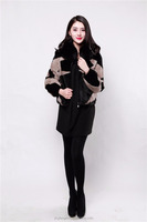 Wholesale cheap fur coat women fashion style