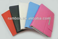 PU Leather Portfolio Tablet case 7 inch, Portfolio Case for Tablet PC