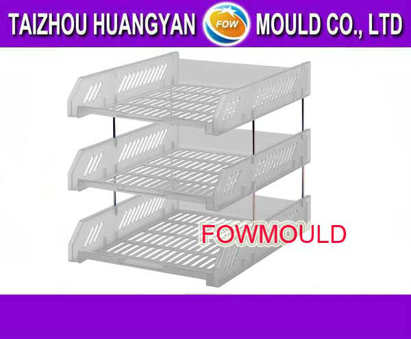 High Precision Magazine Rack Mould manufacturer