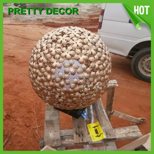 Metal outdoor decorative hollow ball sphere