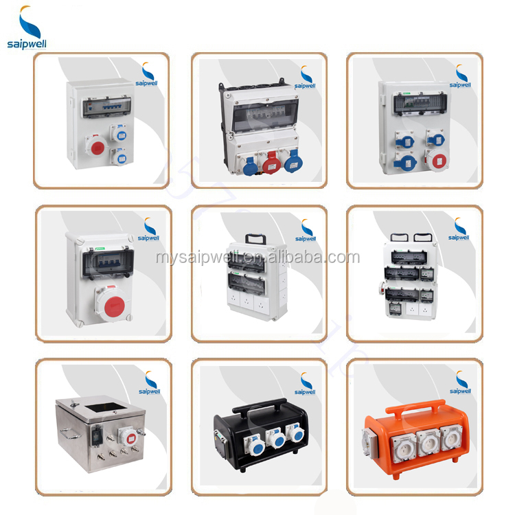 SAIP/SAIPWELL Portable inspection box ,Outdoor waterproof and dustproof Electrical outlet repair box