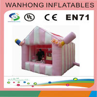 Magical colorful inflatable tent for events, inflatale house for wedding, large inflatable transparent dome for camping