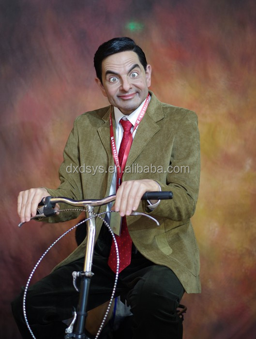 Mr Bean Lifelike Full Size Silicone Wax Figure