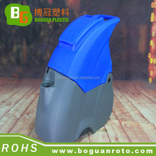 Undertake a variety of rotomolding plastic PE cleaning machine shell and fitting