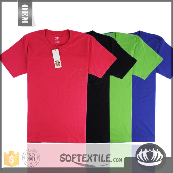 softextile Cheap wholesale promotional / advertising / election t-shirts / china suppliers garments