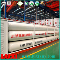 cng long tube bundle container 25Mpa cng tube trailer gas fuel tanks , car used injector rail