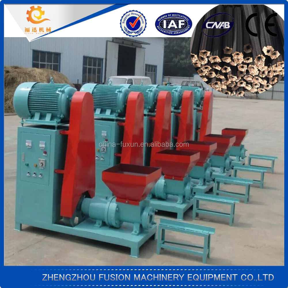 High efficiency small briquette making machine