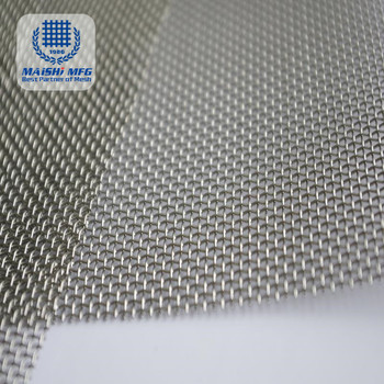 High Precision Stainless Steel Wire Mesh Woven Net