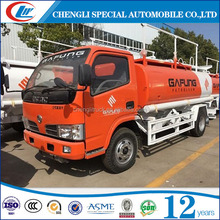 5 tons diesel/ petrol oil tank transport truck for hot sale