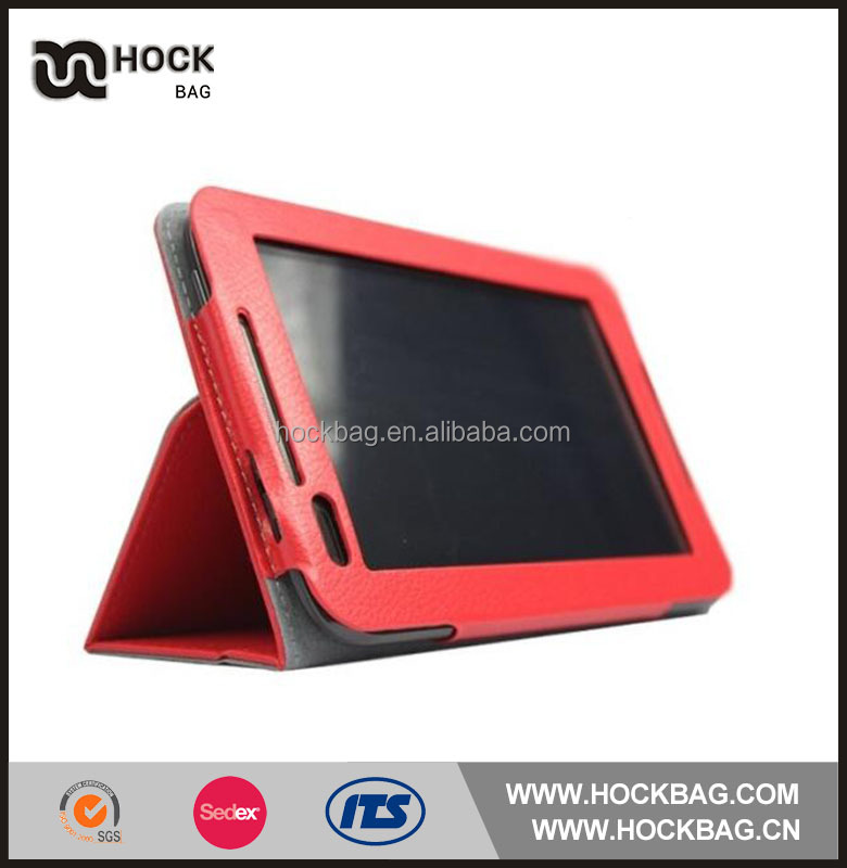 Popular design leather Lenovo A 1000 silicone case and cover for 10 inch tablet pc