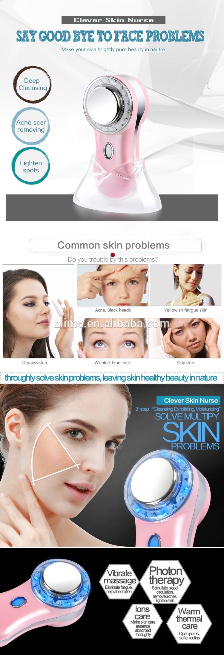 Professional Skin Care Beauty Equipment anti aging wrinkle remove face skin massage machine skin tightening care machine