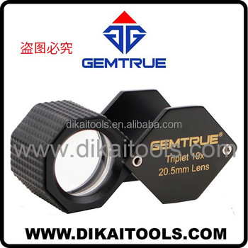 Professional 20.5mm 10x diamond triplet loupe