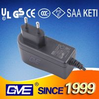 Various Wall Plugs 12V 1A Android Tablet Wall Charger With CE UL Certificate