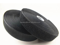Manufacturer Black Nylon Hook And Loop Tape For Shoe
