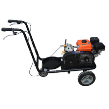 Large sale portable asphalt pavement marker line cleaning machine hand-push road marking line marker machine