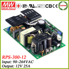 Meanwell dc power supply 12v 25a RPS-300-12