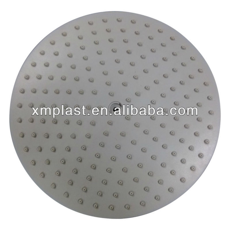 plastic injection overmolding for shower head