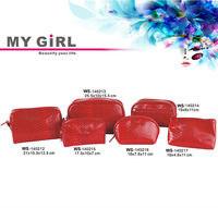 Fashion Modeling MY GIRL WS140212-217 Wholesale Custom Makeup Travel Toiletry Promotional Fashion Cosmetic Bags