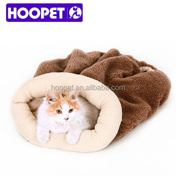 Cat bed fold sleeping bag bed foldable cat mat supplier