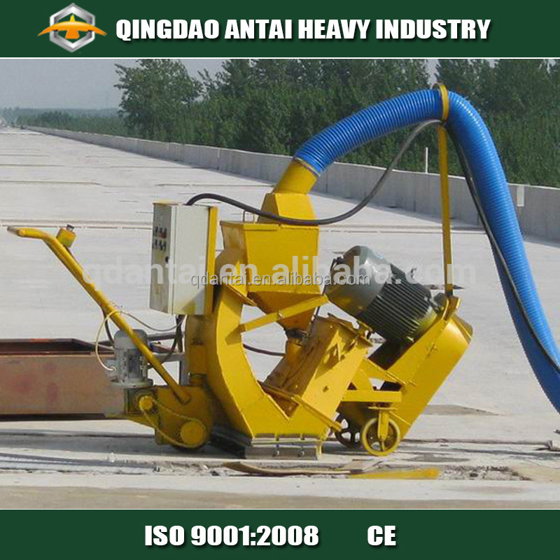 Industrial machine to clean floor concrete shot blaster for Industrial concrete floor cleaning machines