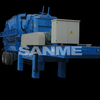 PP Series Portable Stone Mobile Crusher Equipment Manufacturer