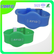 rfid waterproof silicone uhf wristband for children