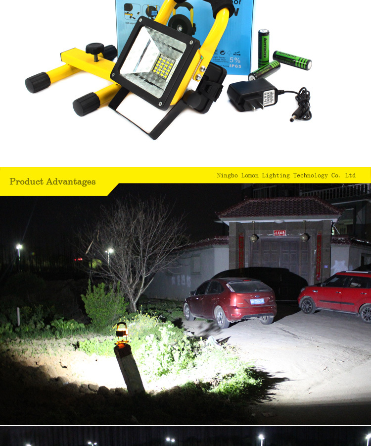 Outdoor Flood Lights For Christmas : Q w portable christmas rechargeable color changing