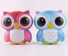 Squishy animal toys Owl toy slow rising, soft and good smelling anti-stress Decompress toy