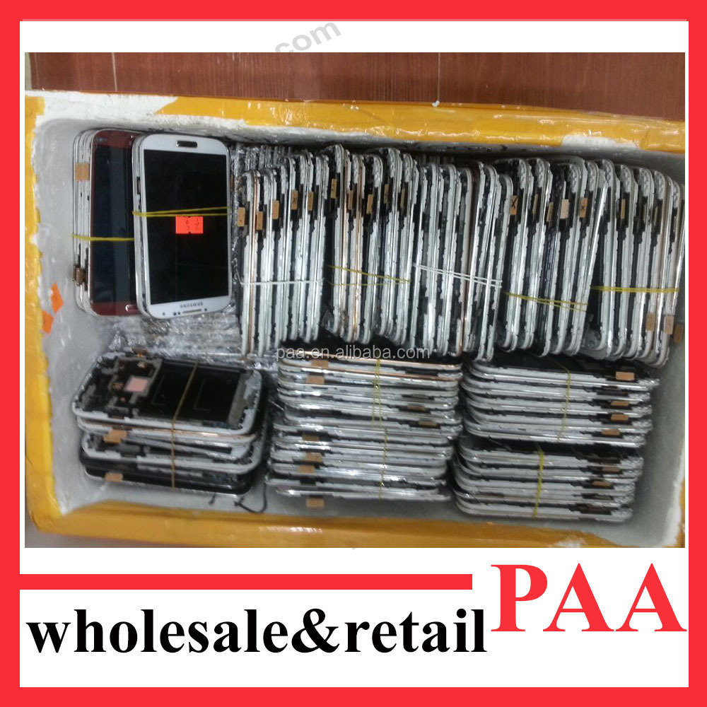 Recycle Broken Glass Mobile Phone LCD Screen for htc