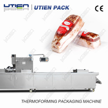 DZL320R automatic thermoformer meat vacuum packing machine