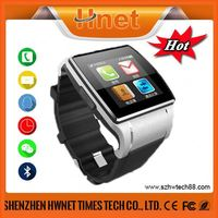 New Arrival! Capacitive Touch unlocked smart watch mobile phone