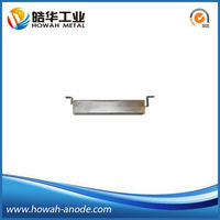 Aluminum Hull Anode with hige performance