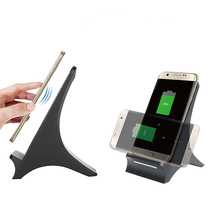 new product 2018 S550 Qi Fast Wireless charger Charging Stand for iPhone 8 plus x and Samsung Galaxy