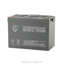 High performance Maintenance Free 12V 100ah Solar System GEL UPS Battery