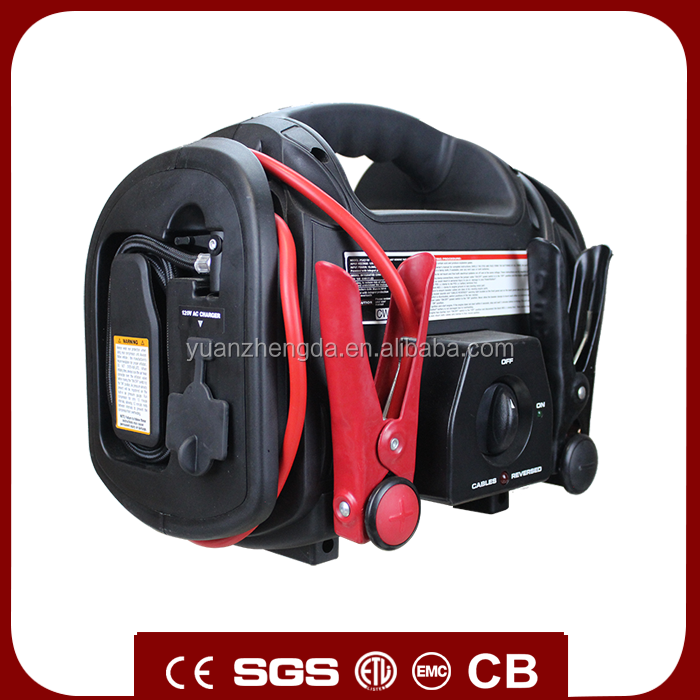 High Quality 16.5V Portable 405x173x233mm Instant Power Jump Starter For Car, Truck, Motorcycle, Boat, RV or Tractor