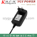 12V 1A dc power adapter with UL PSE FCC CUL certification