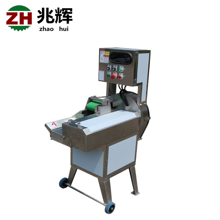 Adjustable cutting size cooked beef meat cutting machine