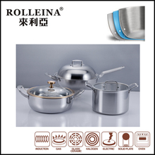 multi-ply cookware Cast Iron cookware ceramic steel cookware