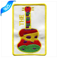 Custom any designs logo patch, Cartoon Violin Patch for Children Clothing