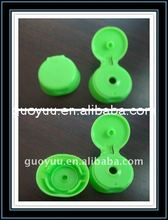 wholesale manufacturer plastic round bottle screw cap flip top lids for shampoo, conditioner, olive oil, dishwash