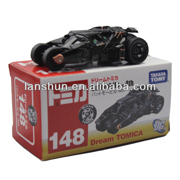 "Takara Tomy DC Batmobile 6.5cm/2.6"" Dream Tomica 148 New in Box"