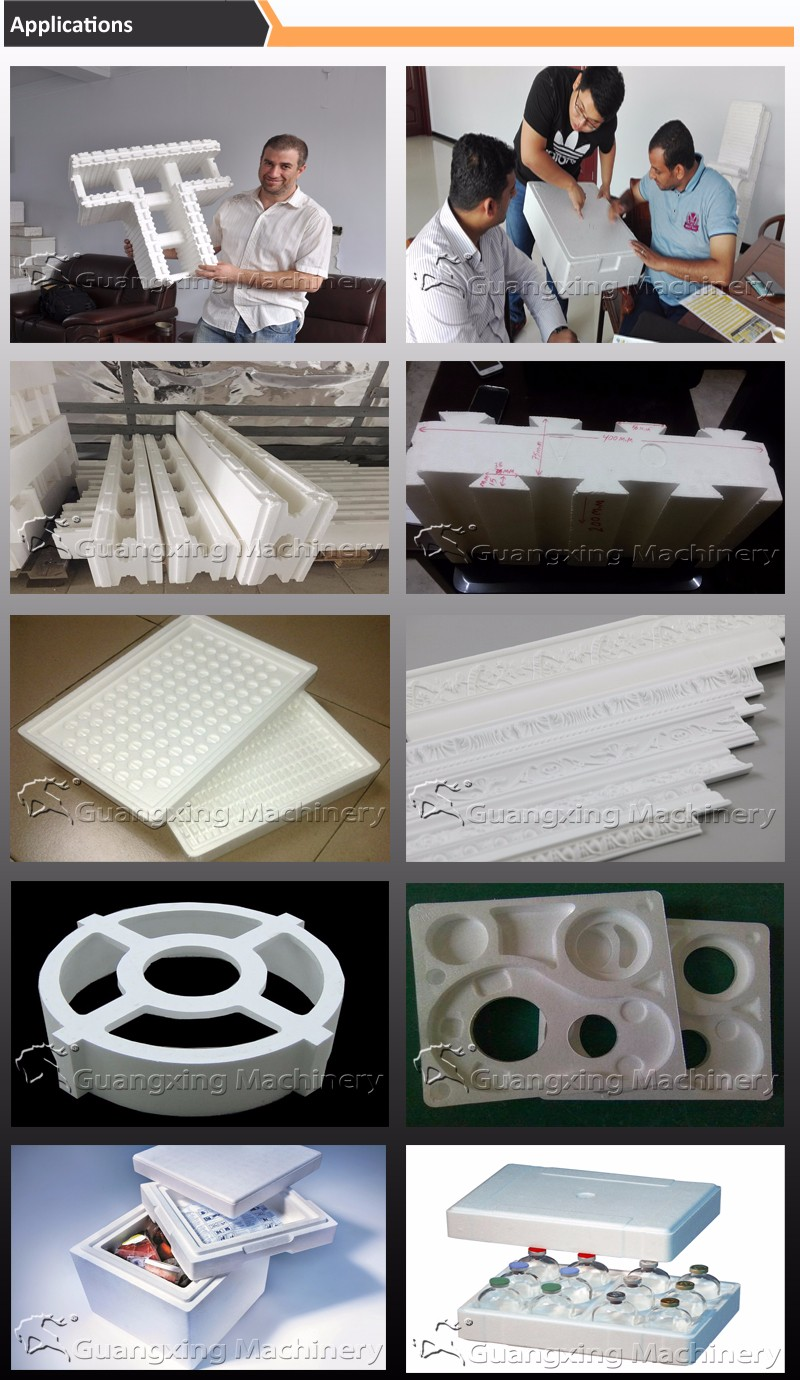 Polystyrene Boxes Making Machine With Vacuum Forming