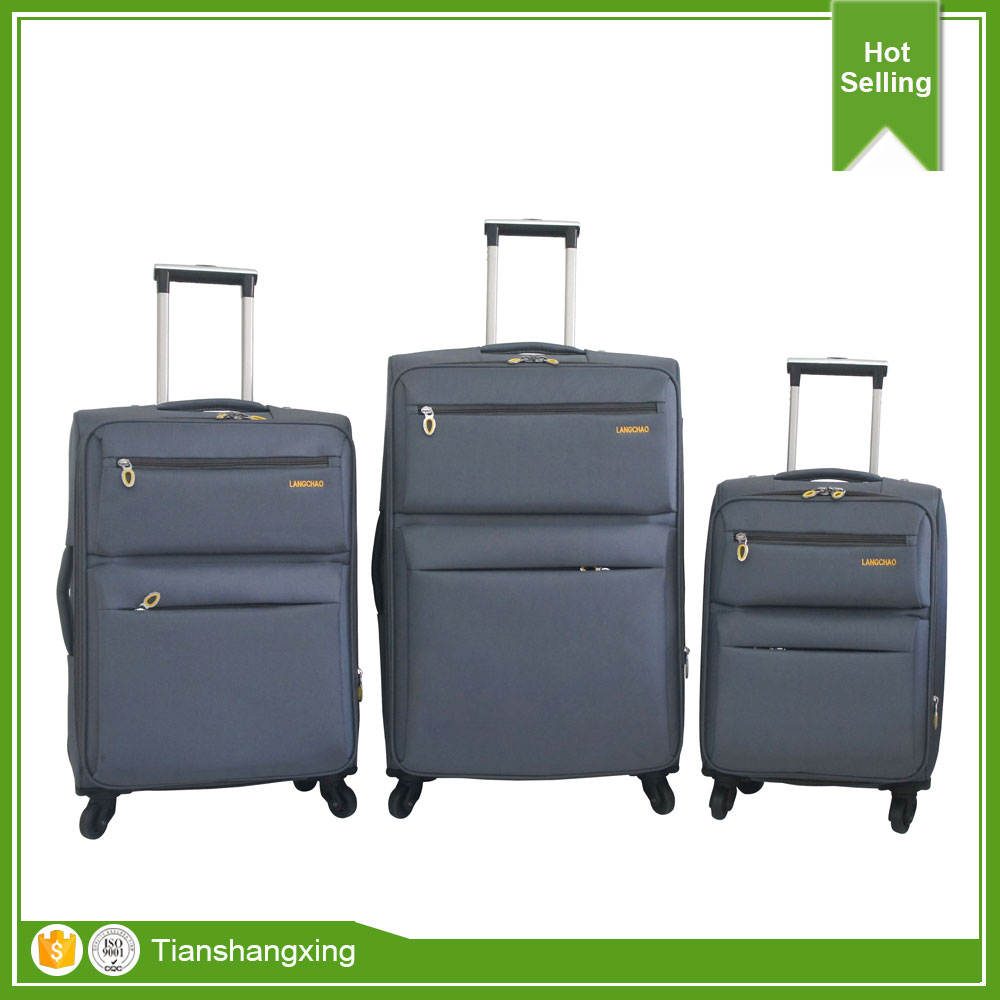New Products Fashional Trolley Travelling Business 4 Wheels Luggage Bag With