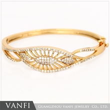 Good Quality Top Fashion gold plated indian bangle kada