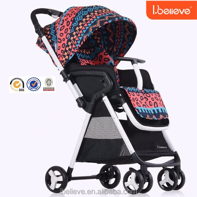 Middle size good quality light weight easy folding baby stroller