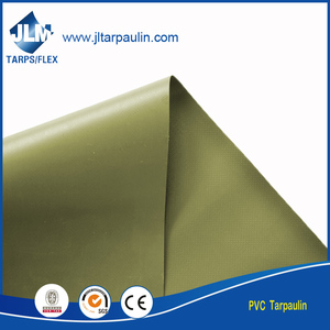 high tensile strength 610g PVC polyester tarpaulin for boat covers