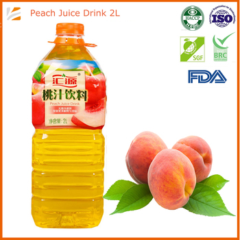 2000ml Peach Fruit Based Beverages Soft Drink Wholesale Directly From Large Beverage Factory
