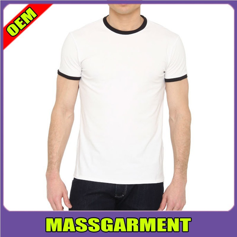 2015 new hot sale t shirts custom logo ringer t shirts for Where to buy custom t shirts