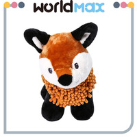 Fashionable Promotional Fox Plush Soft Baby Toy